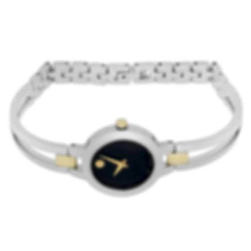 Movado Amorosa Stainless Steel Quartz Ladies Watch 607184
