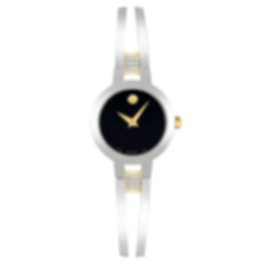 Movado Amorosa Stainless Steel Quartz Ladies Watch 607185