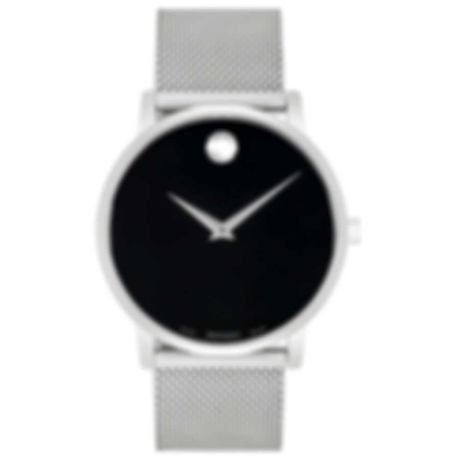 Movado Museum Classic Stainless Steel Quartz Men's Watch 607219