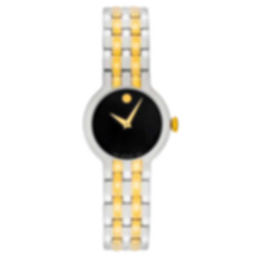 Movado Veturi Two Tone Quartz Ladies Watch 0606933