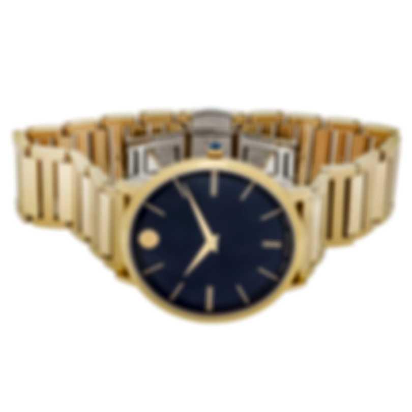 Movado Ultra Slim Blue Dial Quartz Men's Watch 0607510