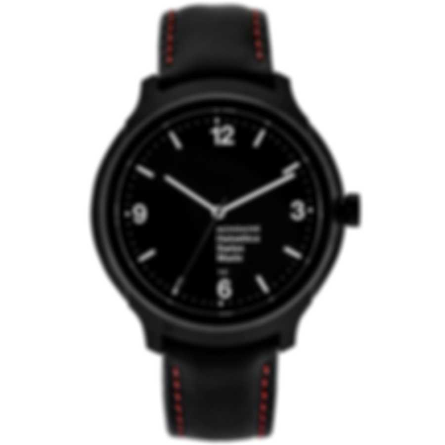 Mondaine Helvetica No1 New York Quartz Men's Watch MH1.B1221.LB