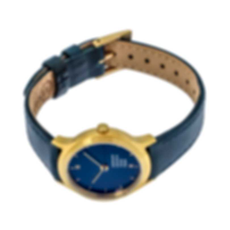 Mondaine Helvetica Blue Dial Quartz Ladies Watch MH1.L1141.LD