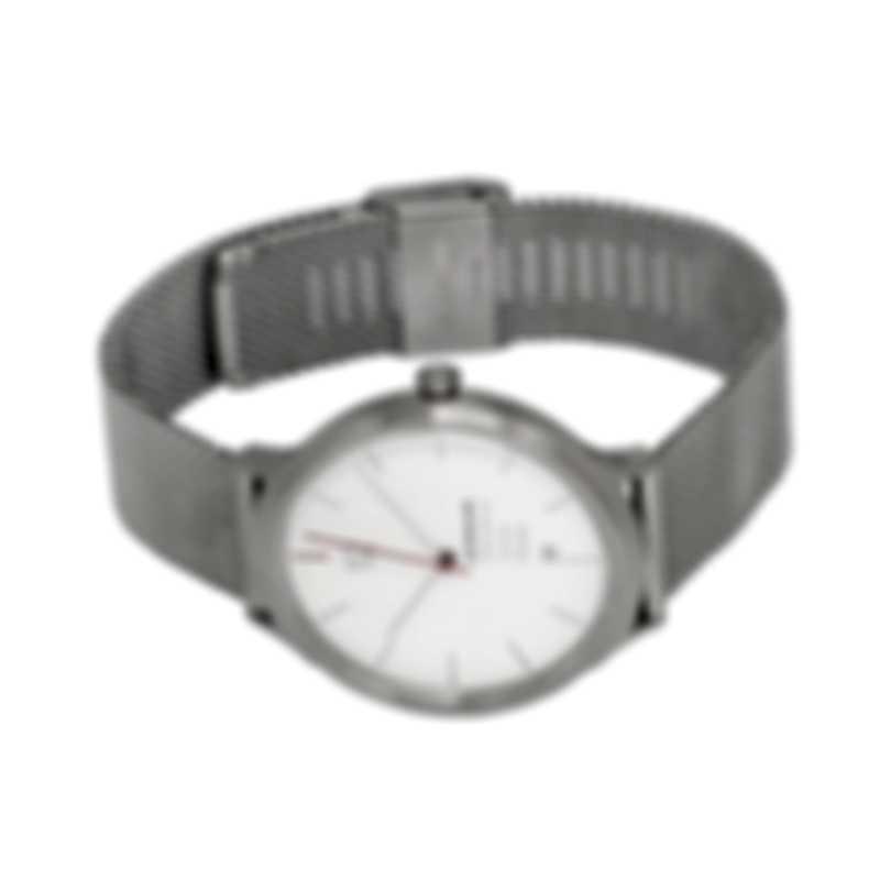 Mondaine Helvetica No1 Spiekermann Edition Quartz Men's Watch MH1.L2212.SM