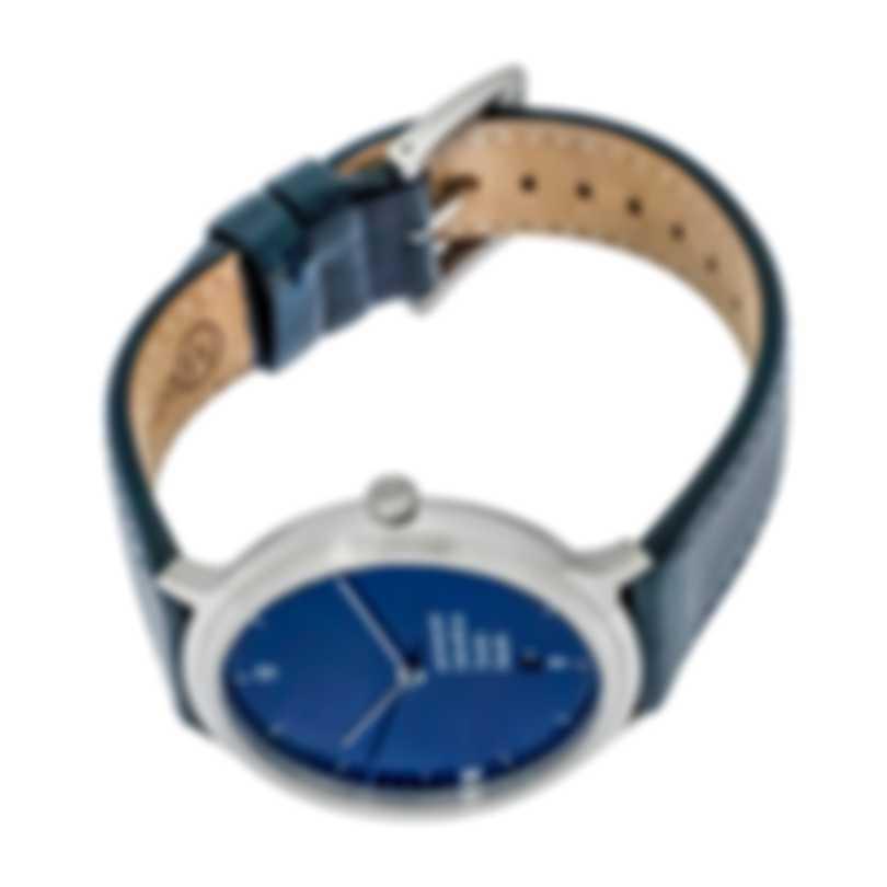 Mondaine Helvetica Light Quartz Blue Dial Unisex Watch MH1.L2240.LD