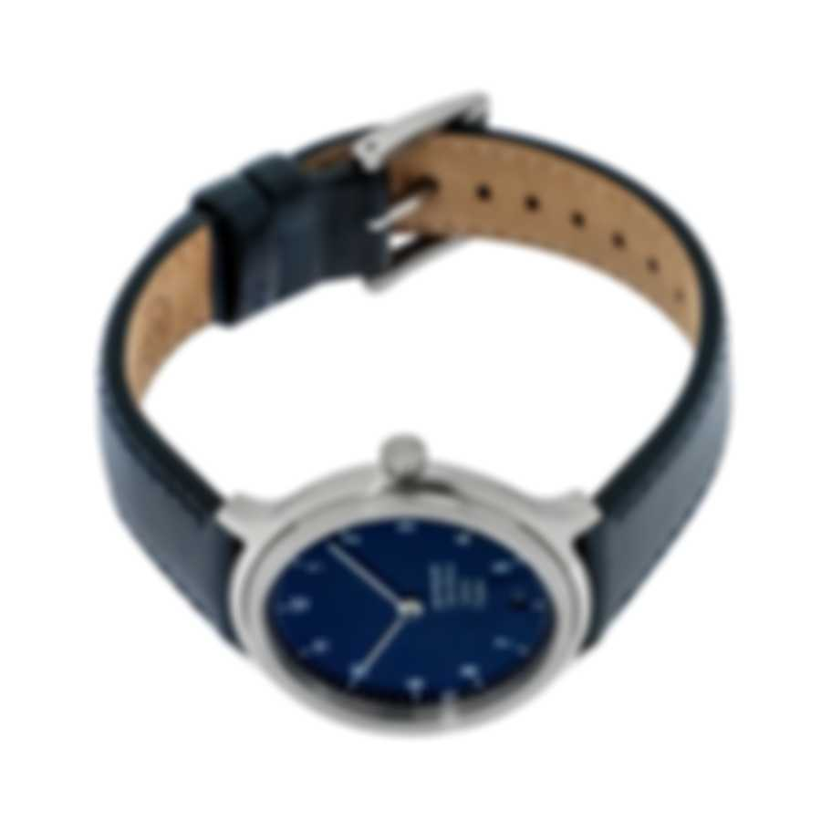 Mondaine Helvetica Blue Dial Quartz Ladies Watch MH1.R1240.LD
