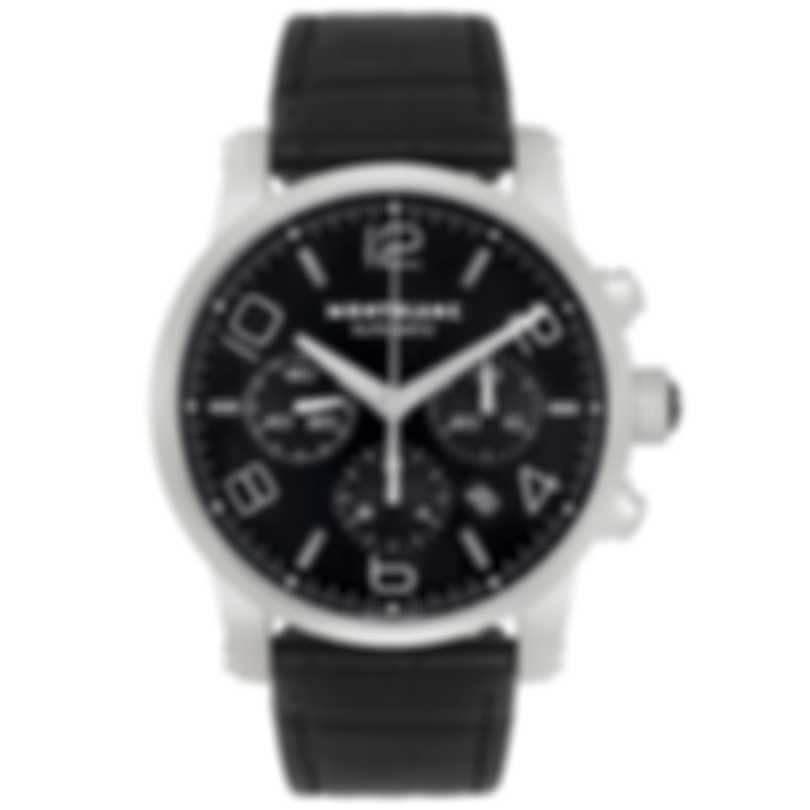 Montblanc Timewalker Chronograph Stainless Steel Automatic Men's Watch 9670