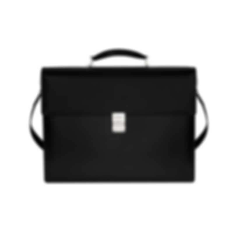 Montblanc Meisterstuck Black Leather Briefcase 104607