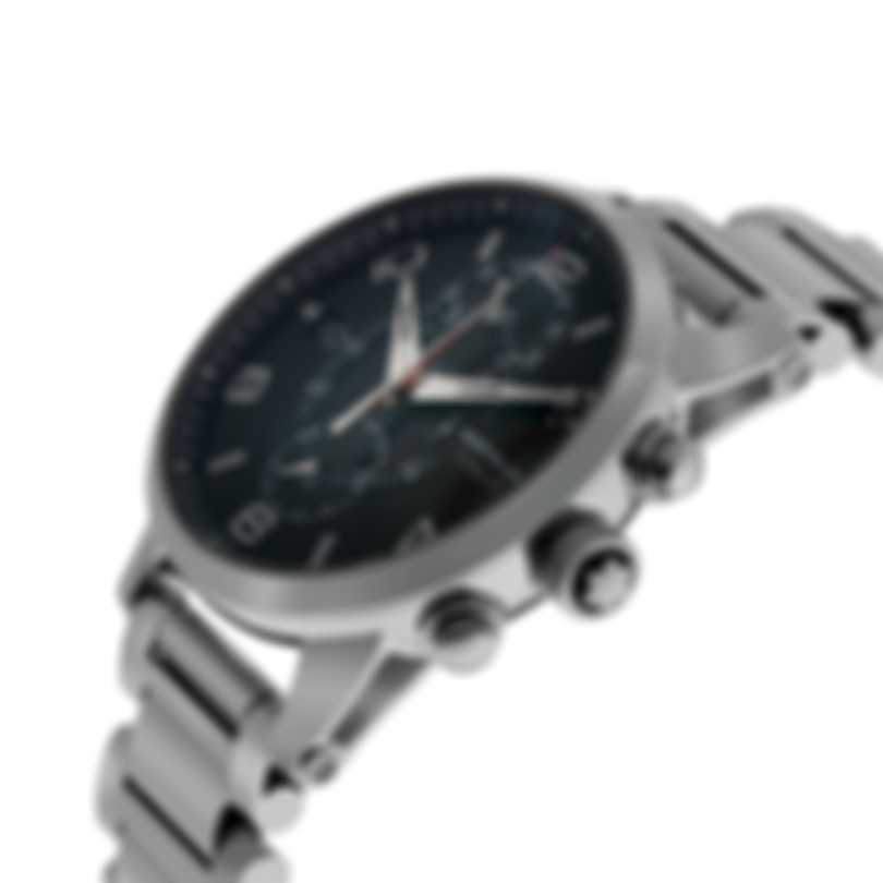 Montblanc Timewalker Twinfly Chronograph Stainless Steel Automatic Men's Watch 104286