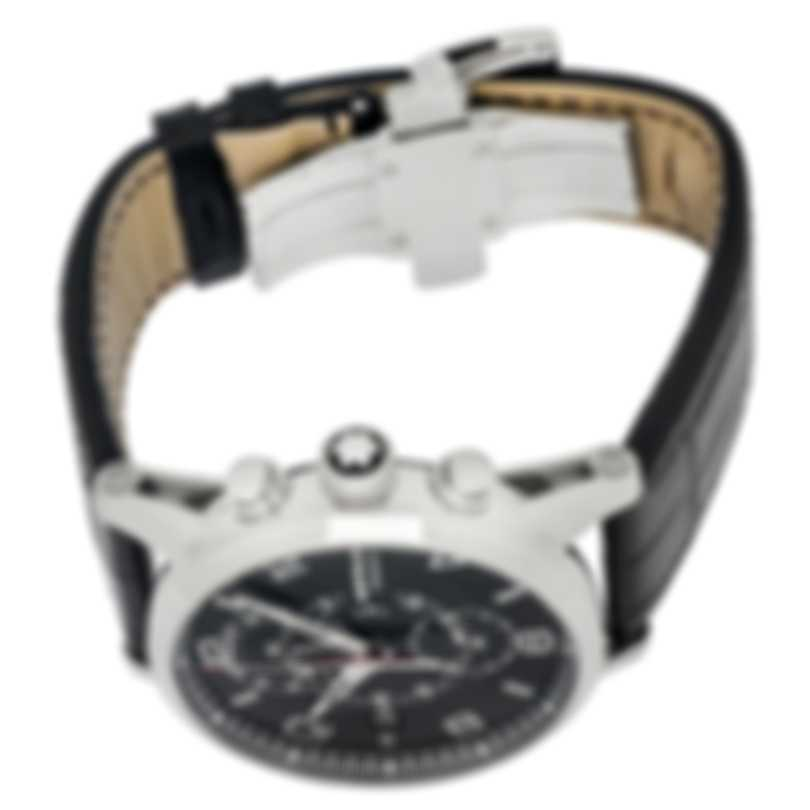 Montblanc Timewalker Twinfly Chronograph Stainless Steel Automatic Men's Watch 105077