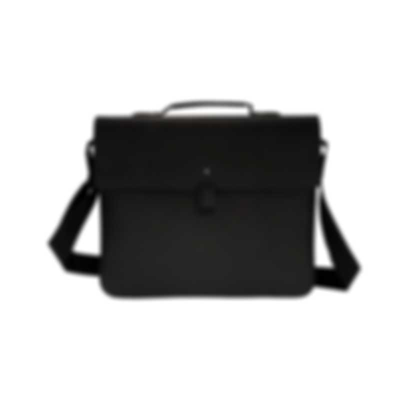 Montblanc Extreme Black Leather Briefcase 111134