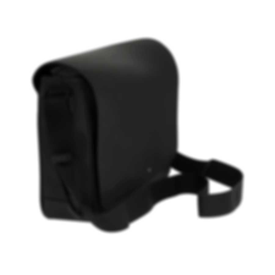 Montblanc Extreme Black Leather And Neoprene Messenger Bag 111136