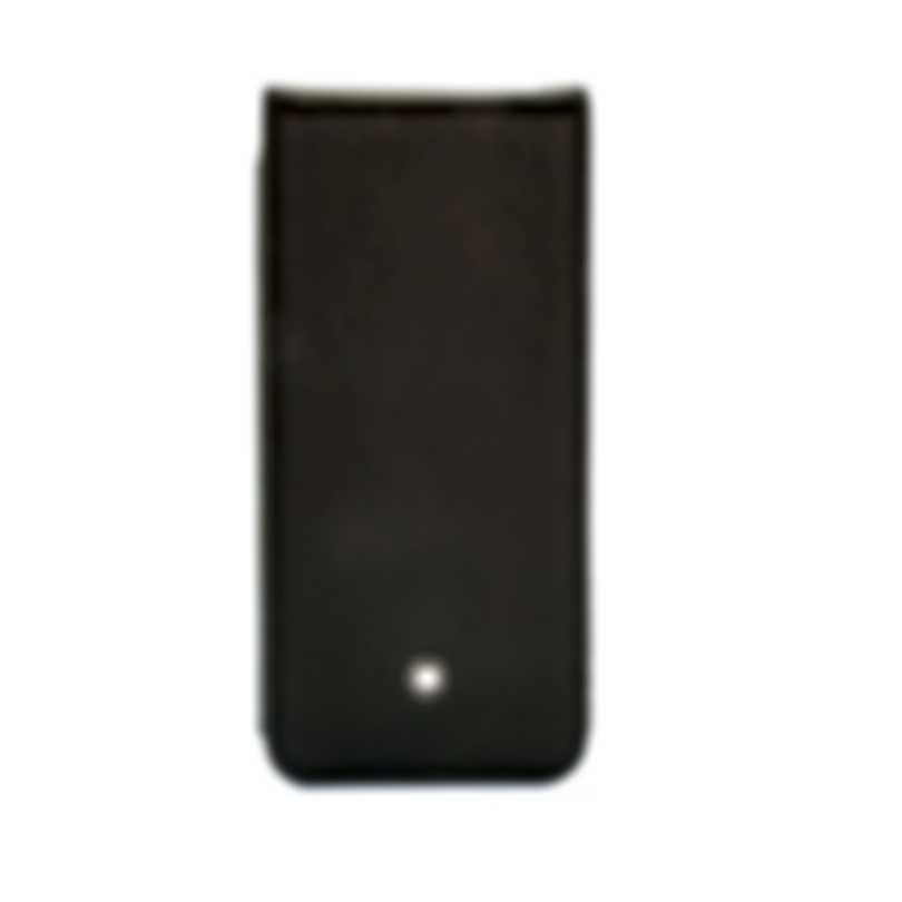 Montblanc Meisterstuck Black Leather Phone Case 111235