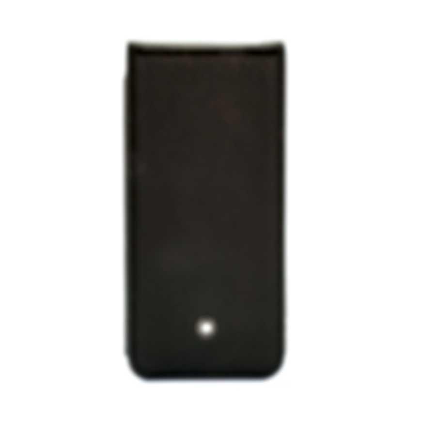 Montblanc Meisterstuck Black Leather Phone Case 111235