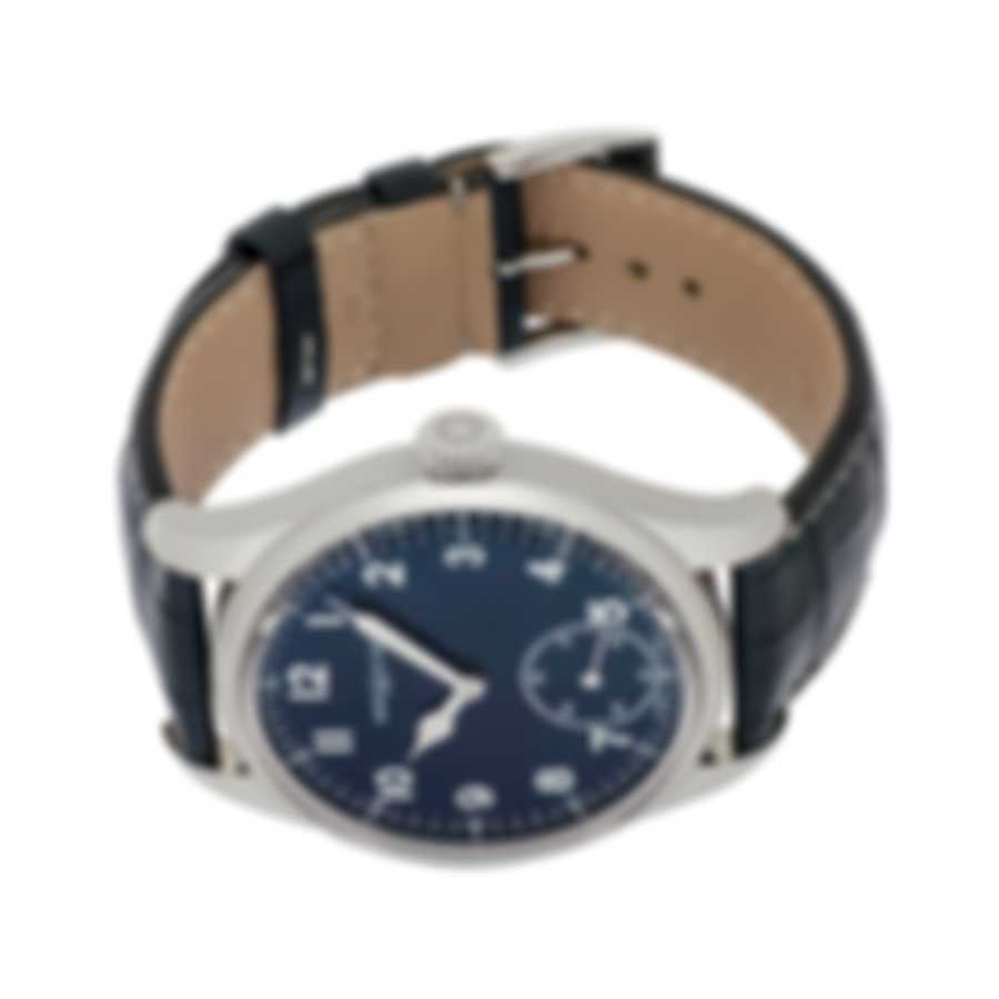Montblanc 1858 Blue Dial Automatic Men's Watch 113702