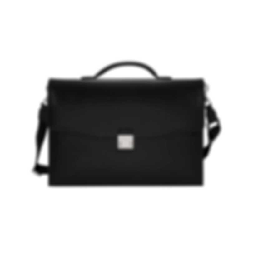 Montblanc Sartorial Black Leather Briefcase 113176