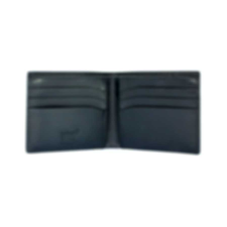 Montblanc Meisterstuck Indigo Leather And Nylon Wallet 114447