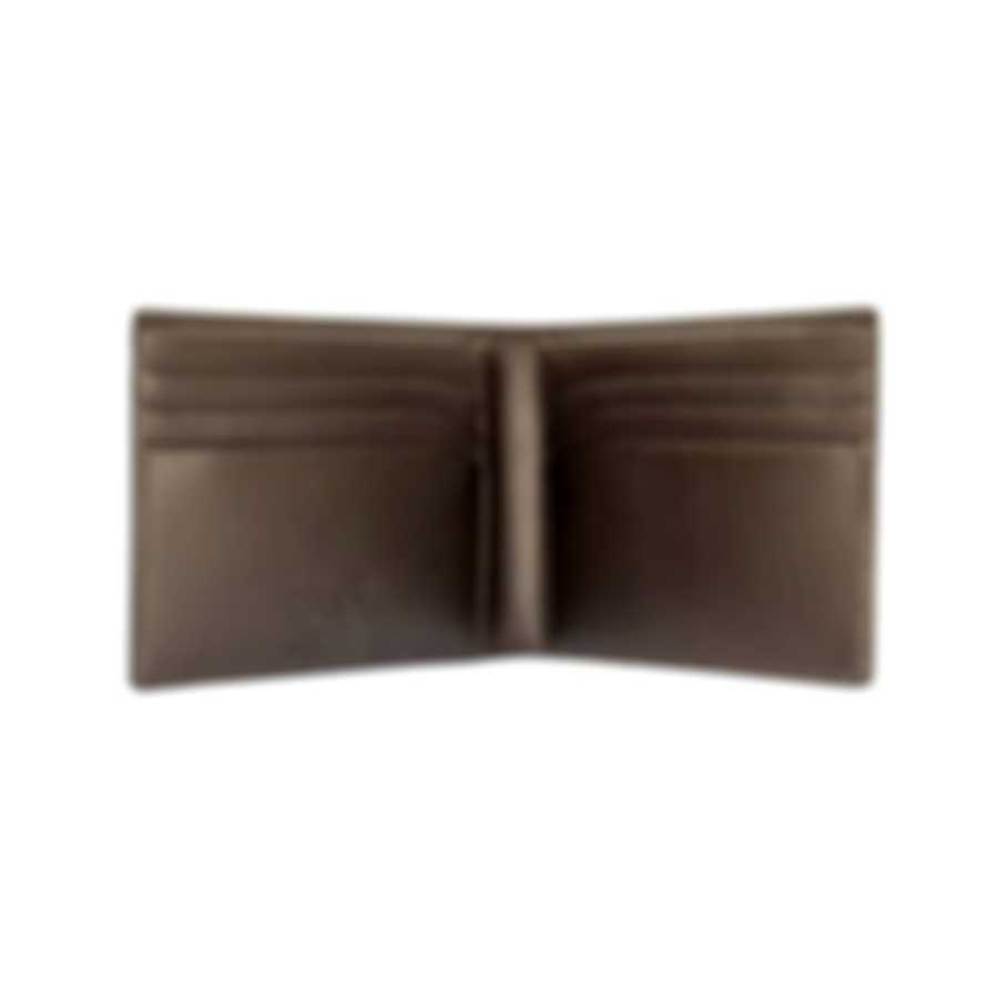 Montblanc Meisterstuck Brown Leather And Viscose Wallet 114541