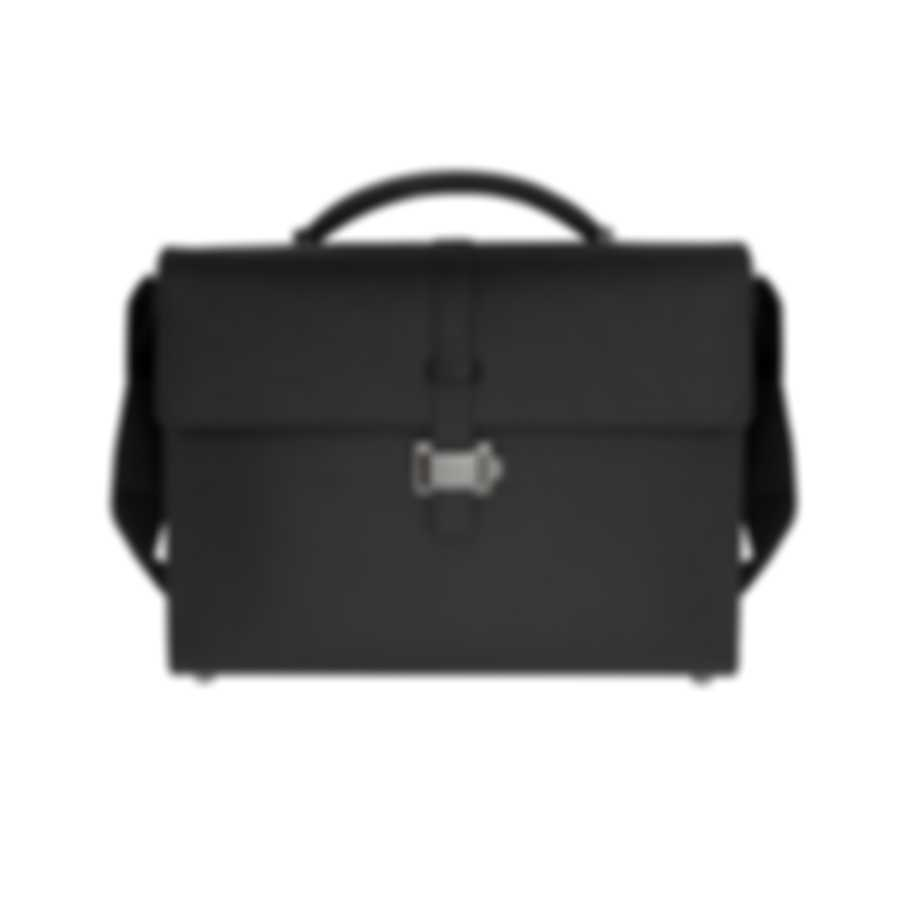 Montblanc Westside Black Leather Briefcase 114678