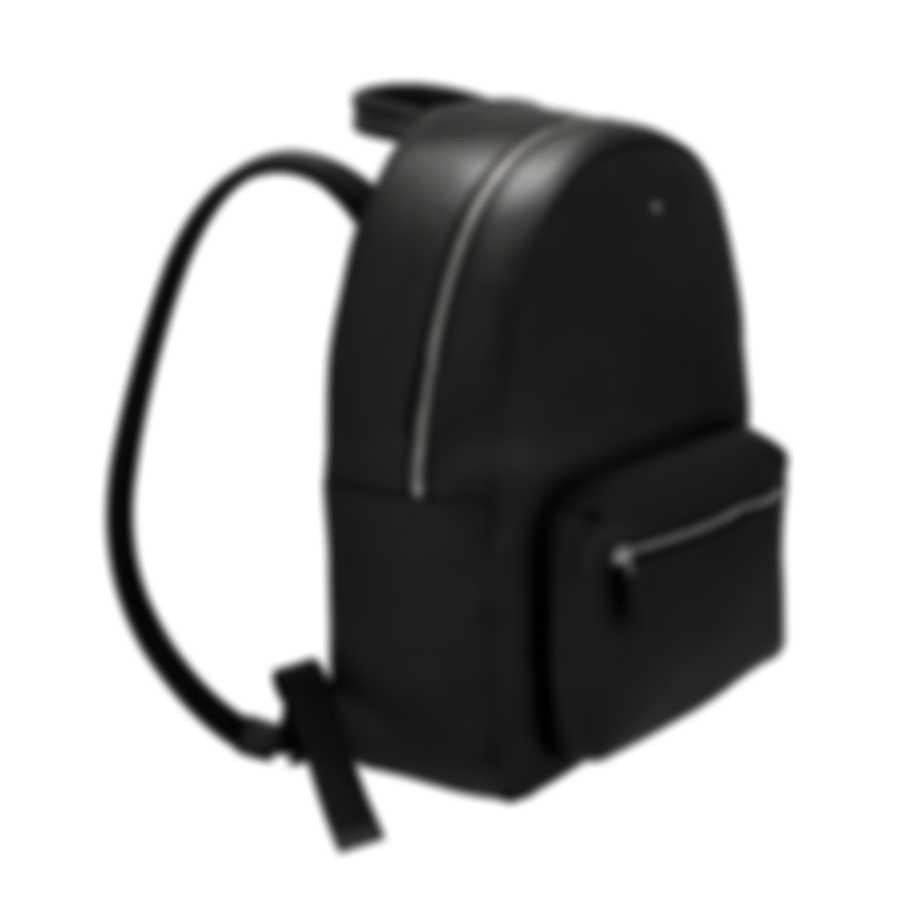 Montblanc Meisterstuck Black Leather Backpack 116736