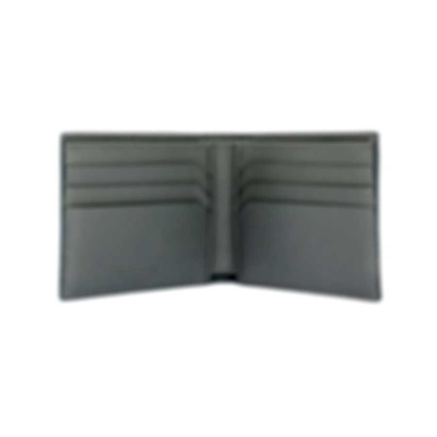 Montblanc Sartorial Indigo Leather And Polyester Wallet 116328