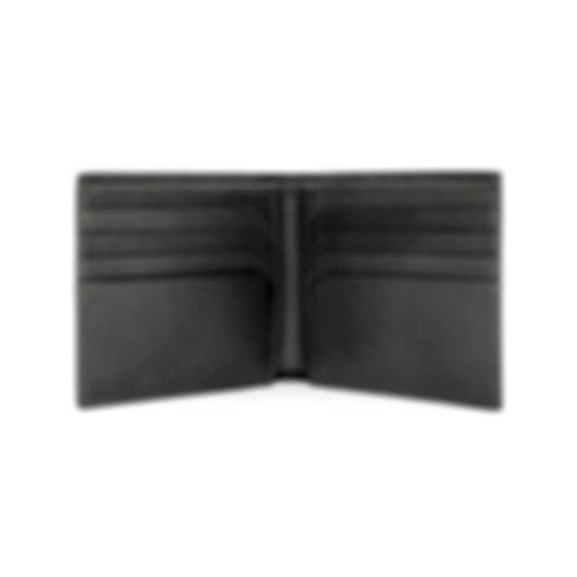 Montblanc Sartorial Grey Leather And Polyester Wallet 116333