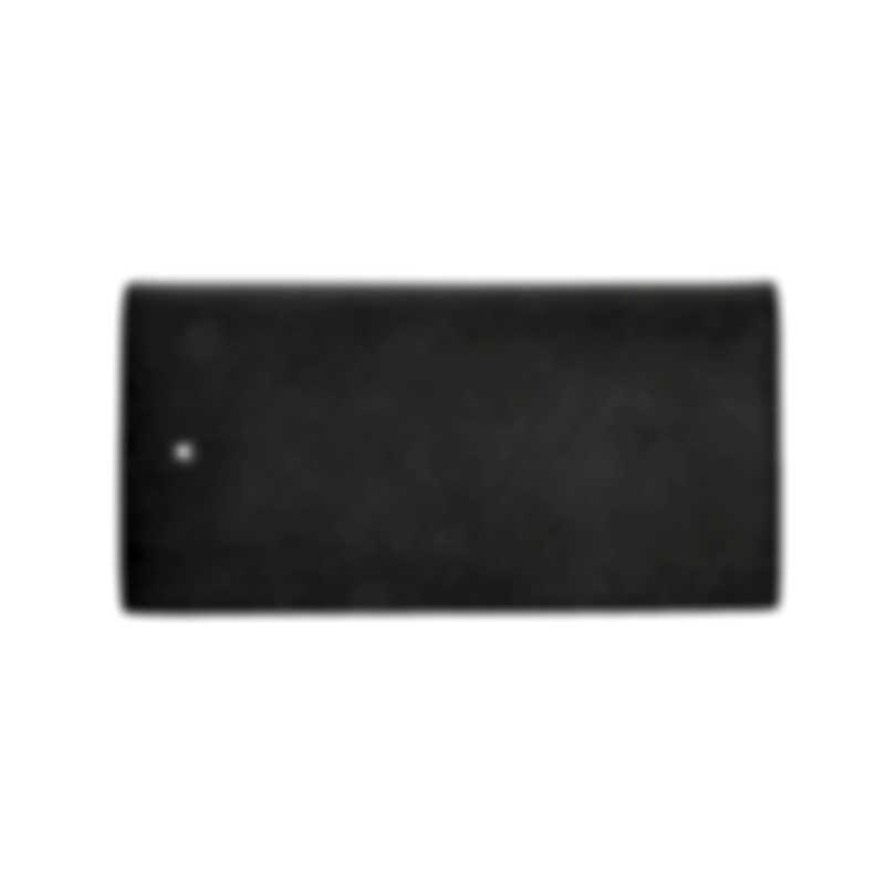Montblanc Sartorial Grey Leather And Polyester Wallet 116336