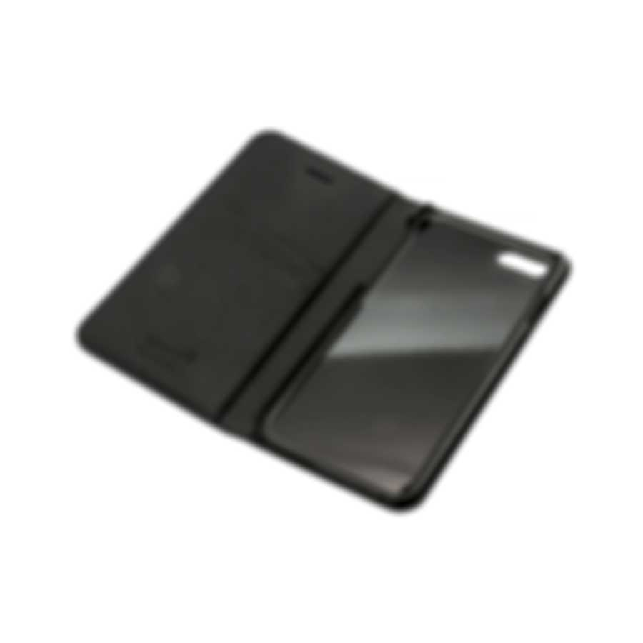 Montblanc Meisterstuck Black Leather Iphone 8 Phone Case 118409