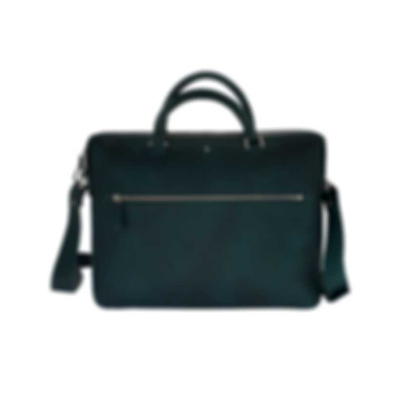 Montblanc Meisterstuck Sfumato Blue/Green Leather Briefcase 118328