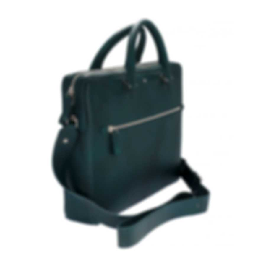 Montblanc Meisterstuck Sfumato Blue/Green Leather Briefcase 118328