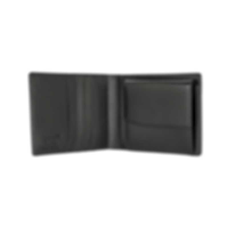 Montblanc Meisterstuck Black Leather And Jacquard Wallet 14103