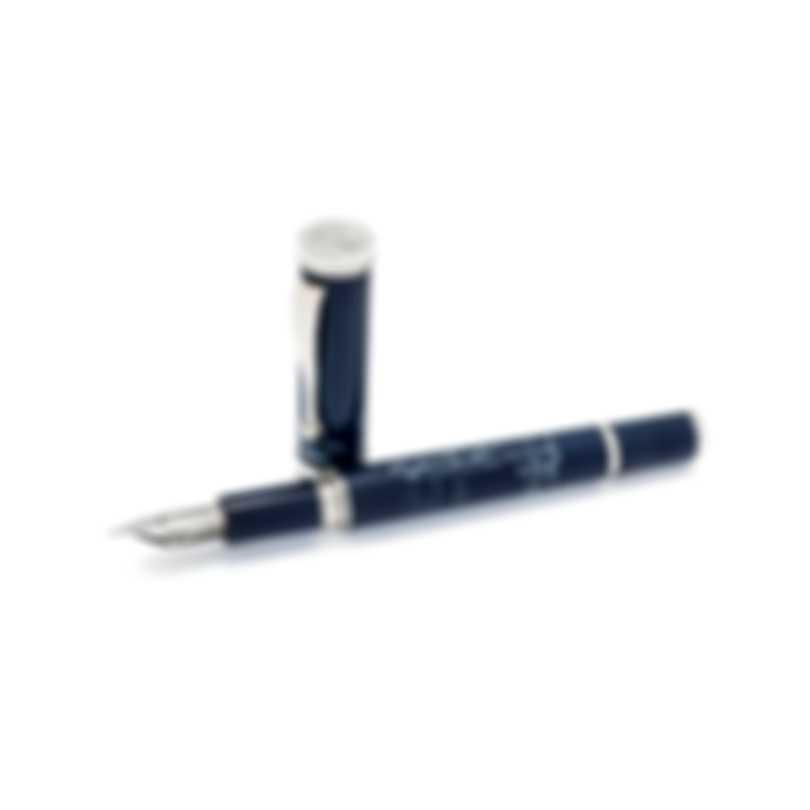 Montegrappa The Secret Life Of Dali Resin Stainless Steel Fountain Pen ISDSS2ID
