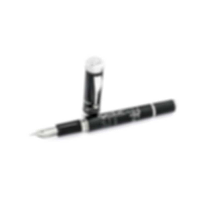 Montegrappa The Secret Life Of Dali Resin Stainless Steel Fountain Pen ISDSS2IJ