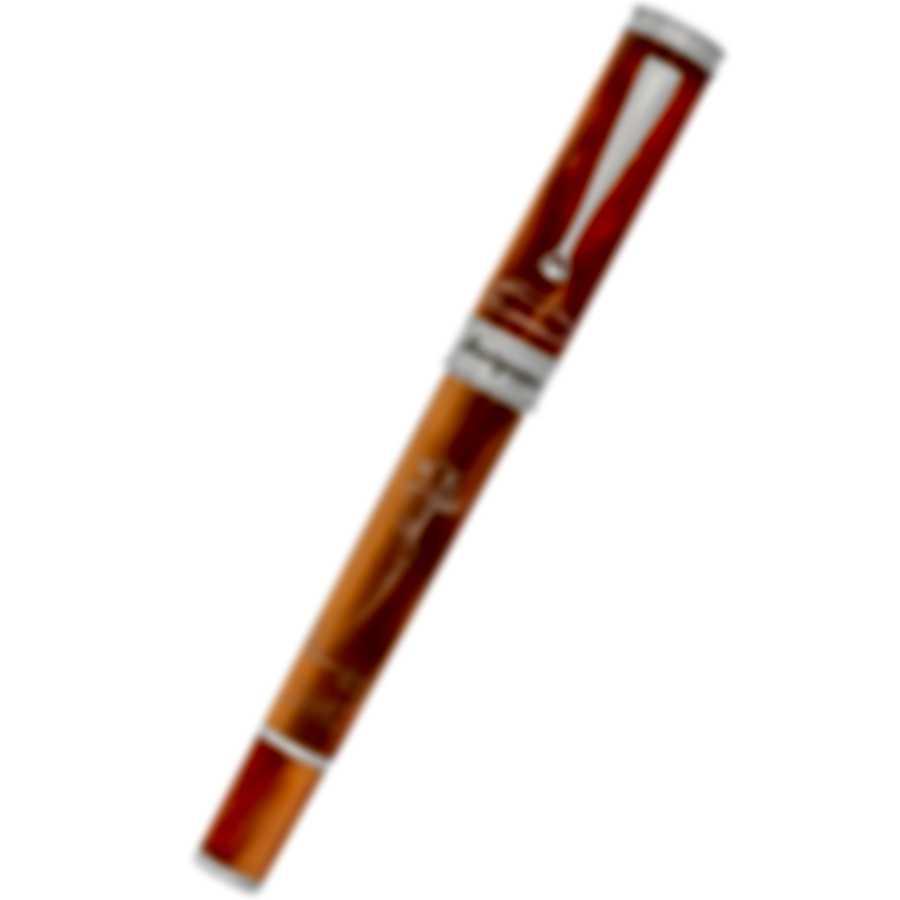Montegrappa Secret Life Of Dali Resin Stainless Steel Rollerball Pen ISDSSRIM