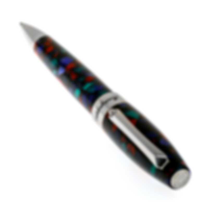 Montegrappa Fortuna Aurora Borealis Multi Colored Mosaico Ballpoint Pen ISFOBBIK