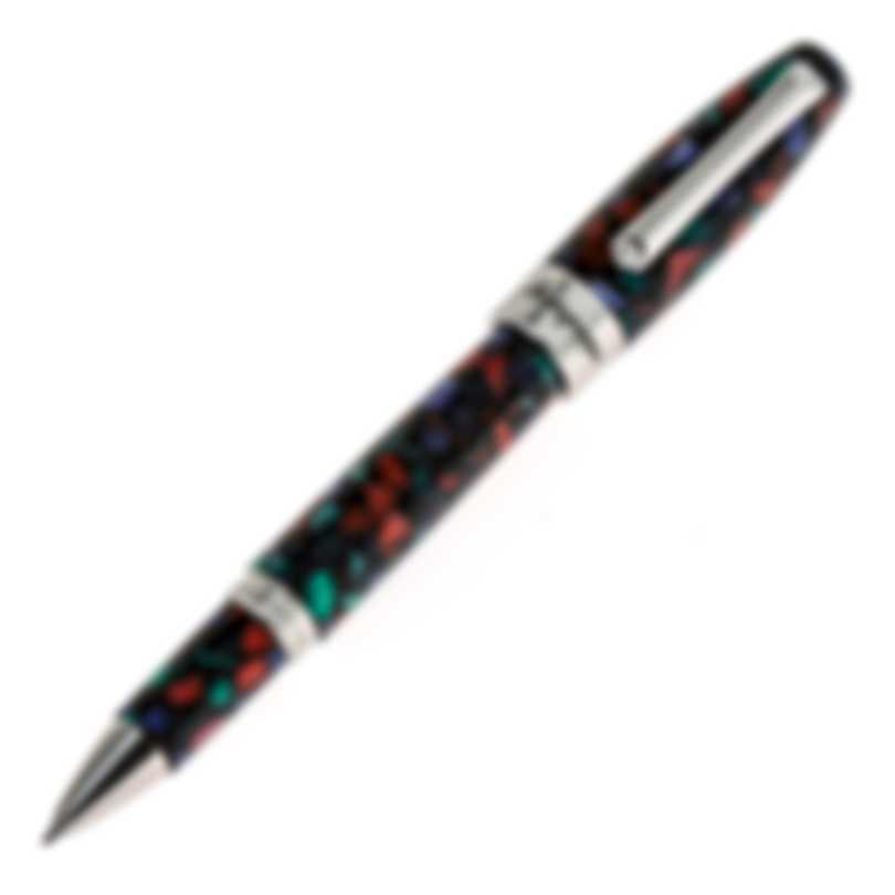 Montegrappa Fortuna Aurora Borealis Multi Mosaico Rollerball Pen ISFOBRIK