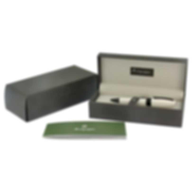 Montegrappa Fortuna Resin & Ruthenium Ballpoint Pen ISFORBLH