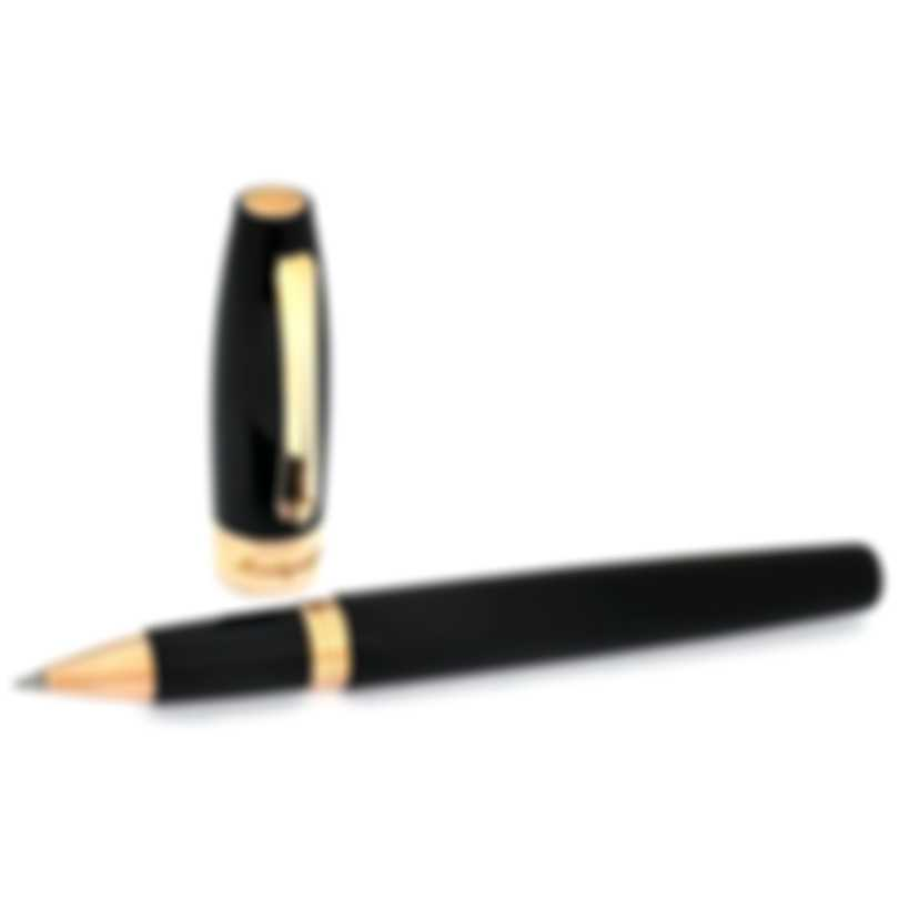 Montegrappa Fortuna Resin & Rose Gold Plated Rollerball Pen ISFORRRC