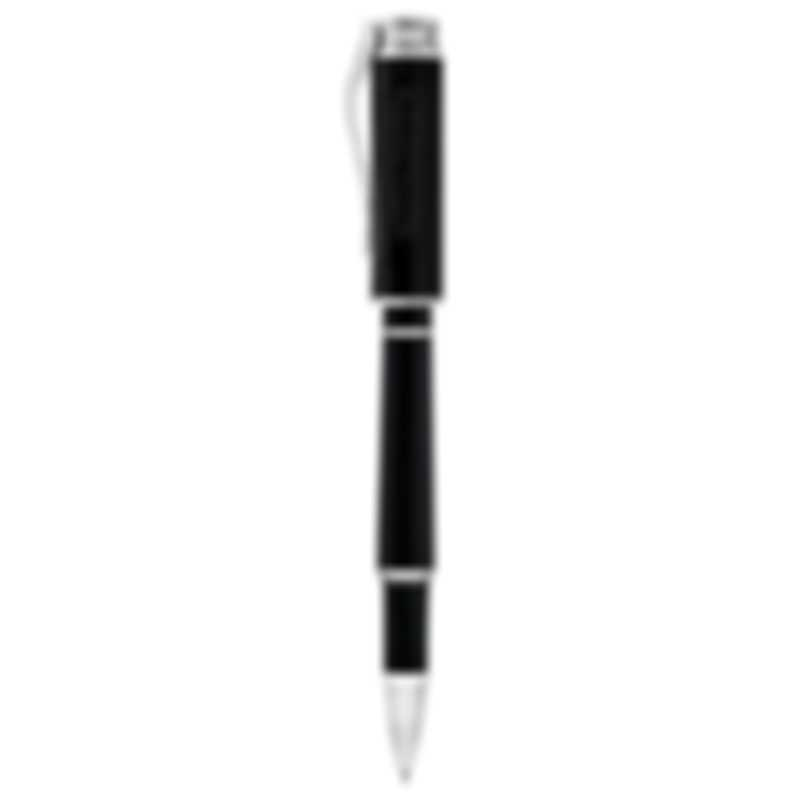 Montegrappa Icons Hemingway Novel Black & Silver Rollerball ISICHRIC
