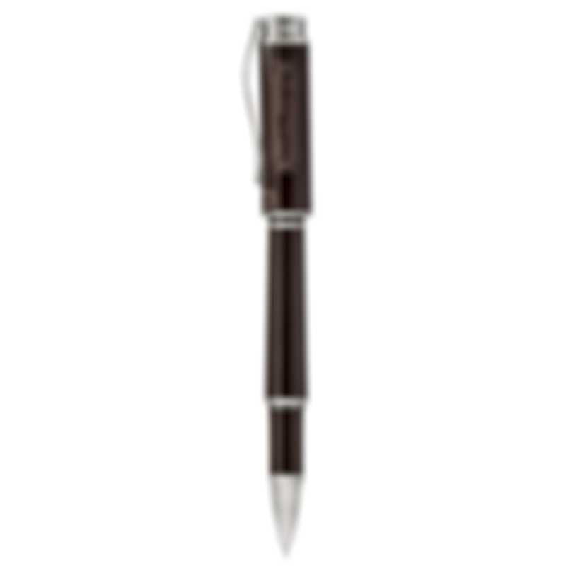 Montegrappa Icons Hemingway Novel Tobacco & Silver Rollerball ISICHRIW
