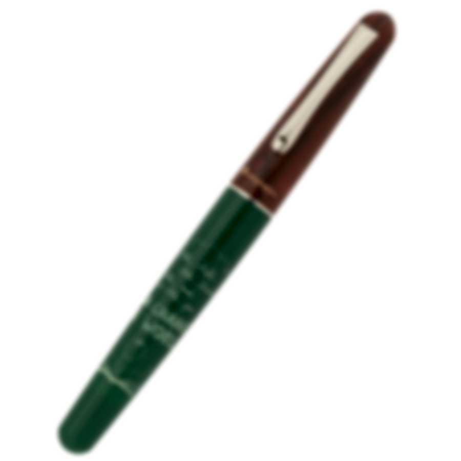 Montegrappa Teacher's Pen Green & White Resin Rollerball Pen ISTERRAG