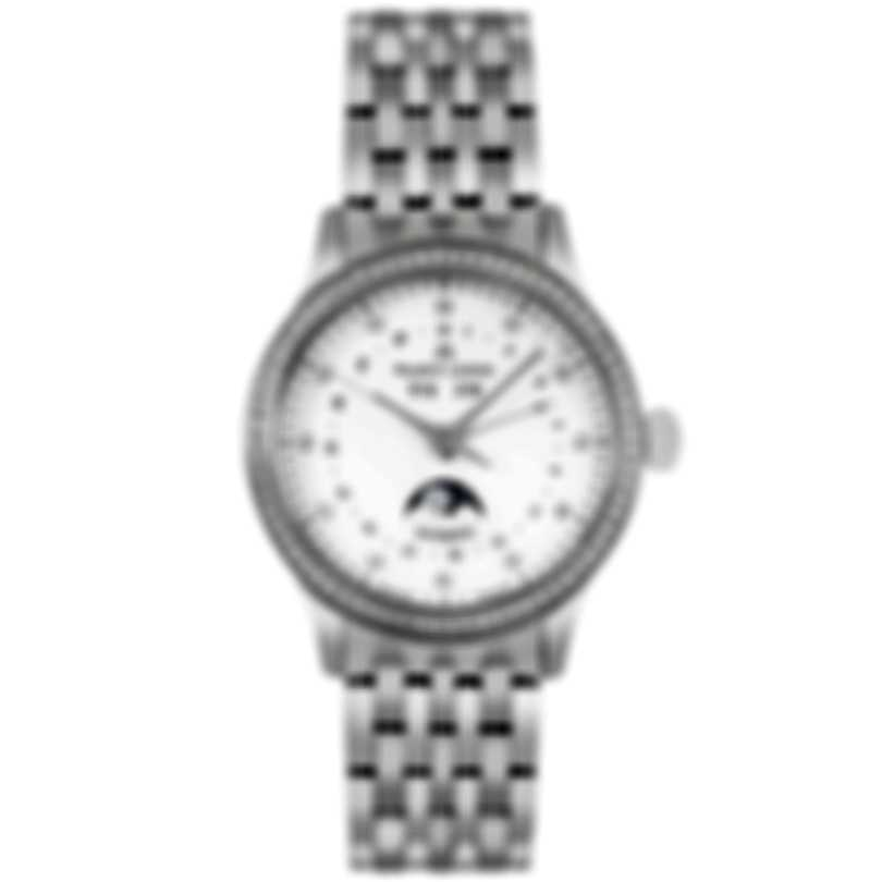 Maurice Lacroix Les Classiques Diamond Mother Of Pearl Automatic Ladies Watch LC6057-SD502-17E