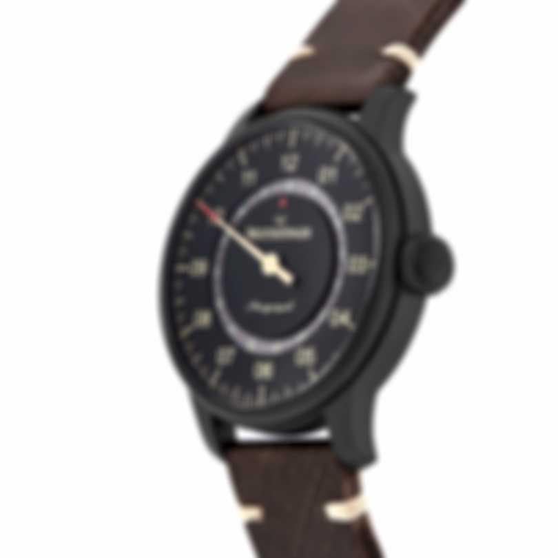 Meistersinger Perigraph Black Line DLC Automatic Men's Watch AM1002BL