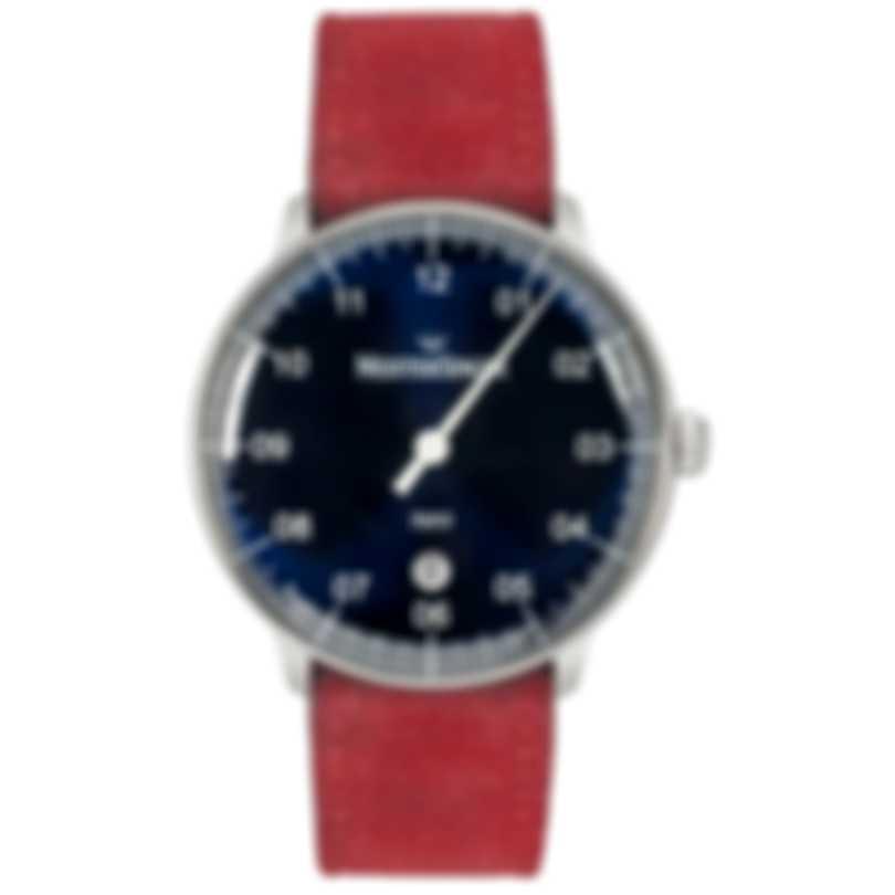 MeisterSinger Neo Plus Blue Dial Automatic Men's Watch NE408