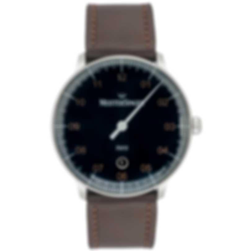 MeisterSinger Neo Plus Blue Dial Automatic Men's Watch NE417G