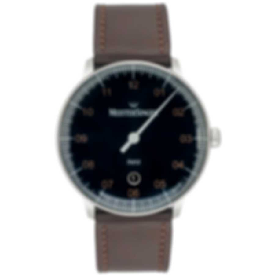 MeisterSinger Neo Plus Blue Dial Automatic Men's Watch NE417G