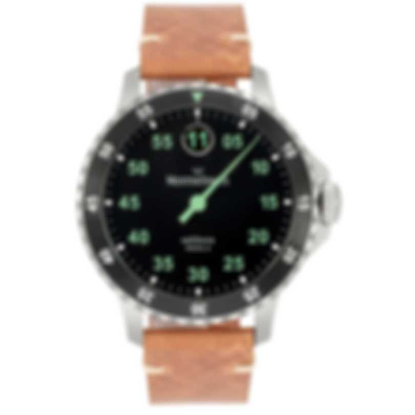 MeisterSinger Salthora Meta X Jump Hour Automatic Men's Watch SAMX902 GR-BR
