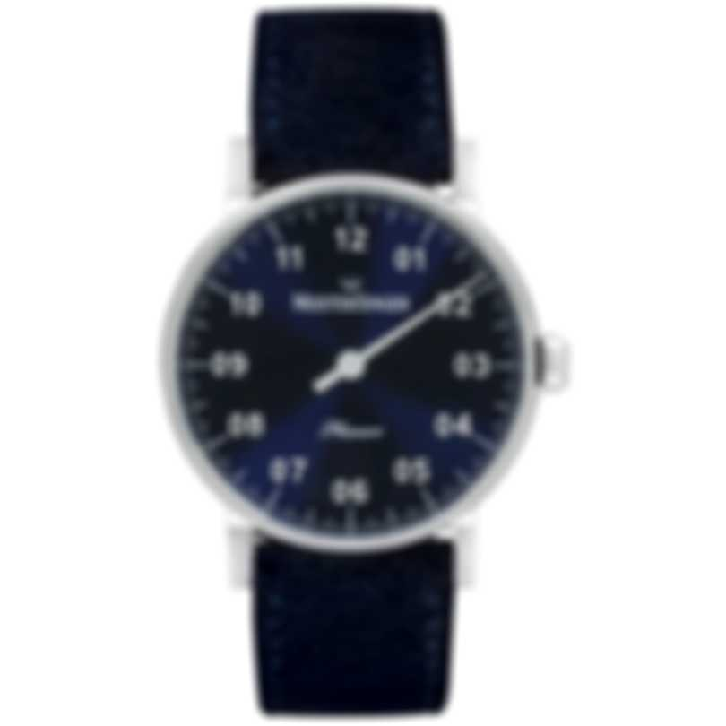 MeisterSinger Phanero Blue Dial Manual Wind Ladies Watch PH308 S