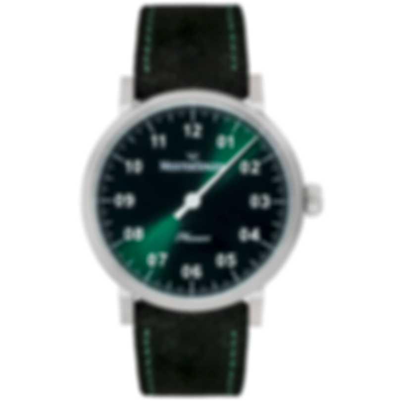 MeisterSinger Phanero Green Dial Manual Wind Ladies Watch PH309