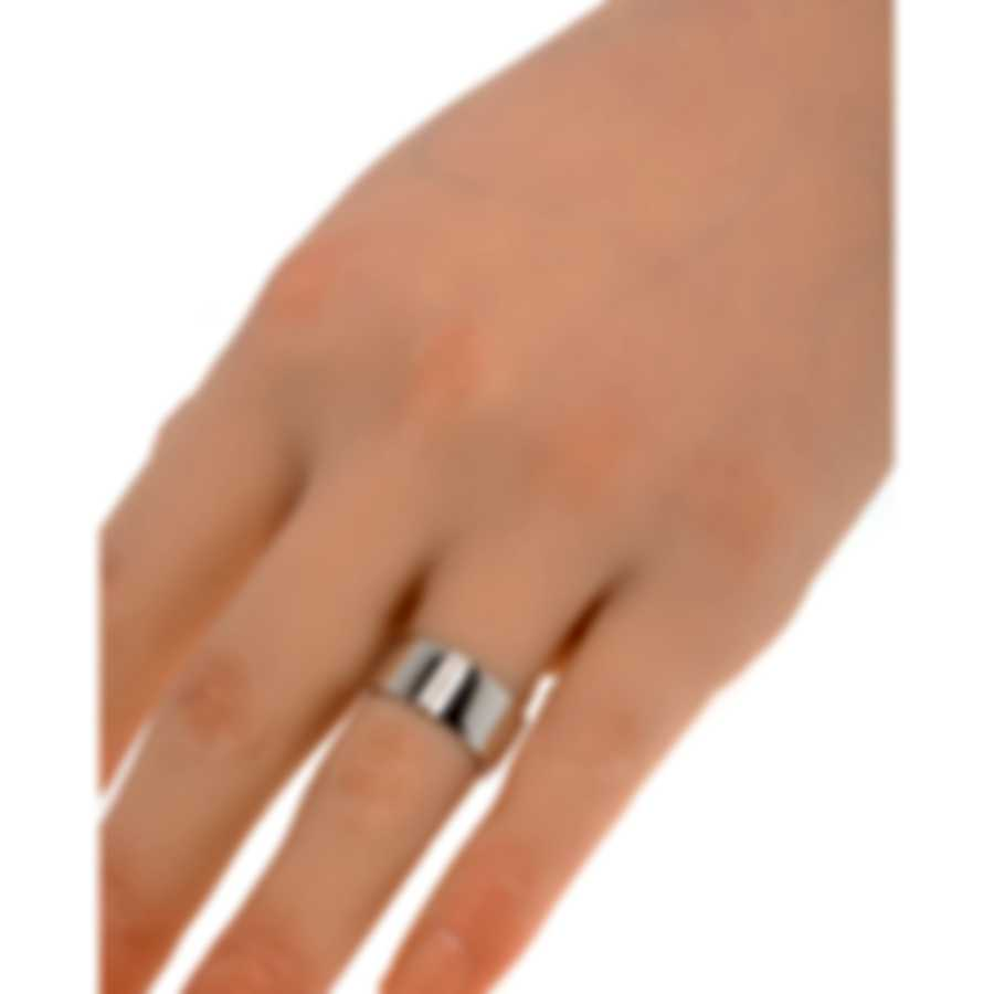 Messika Kate 18k White Gold Diamond 0.07ct Ring Sz 6.5 V014190